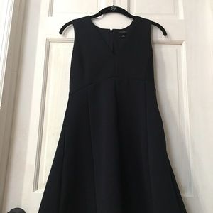 Ann Taylor Petite 0 Navy Dress